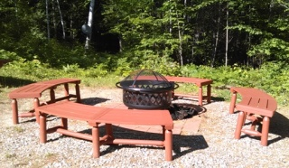 fire pit _ evergreen